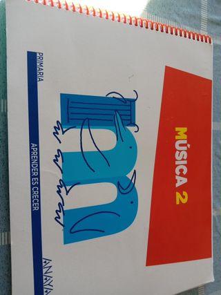 libro de Música 2° primaria