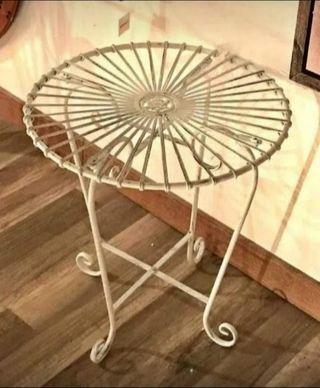 Mesa de hierro Art Deco