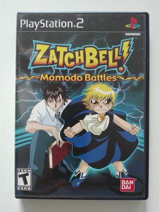 Videojuego PS2 Zatch Bell!: Mamodo Battles (2005)