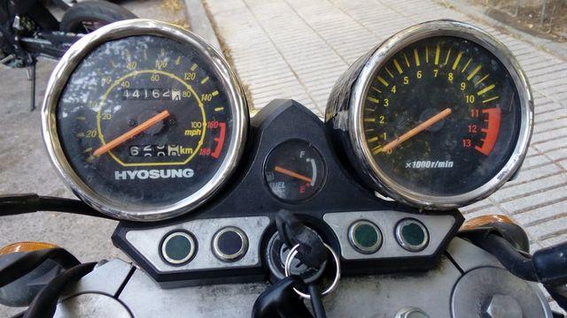 DESPIECE HYOSUNG COMET 250 GT (SOLO POR PIEZAS)