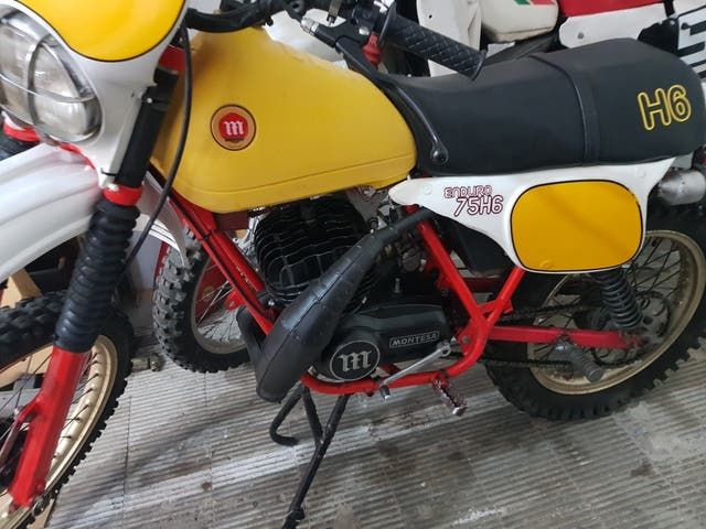 montesa h6 75 1980