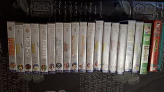 VHS Colección Tesoros de Walt Disney