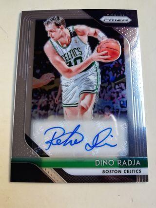 Dino Radja. Cromos NBA