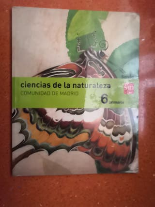 Libro naturales 6 primaria sm