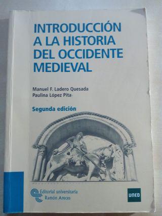 Introducción a la historia del occidente medieval.
