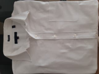 Camisa blanca Tommy hilfiguer hombre