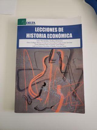 LIBRO LECCIONES DE HISTORIA ECONOMICA