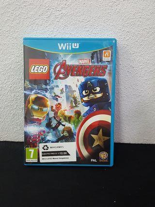 Juego Lego Marvel Vengadores N Wii U
