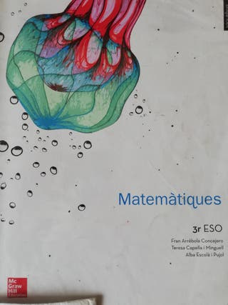Libro Matematicas 3°ESO