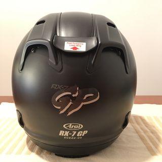 Casco Moto RX7 GP Negro (Talla S)