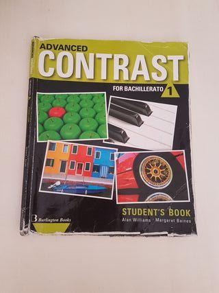 Libro inglés advanced contrast for bachillerato 1