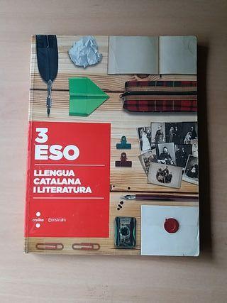 libro de lengua catalana y literatura de 3ro ESO