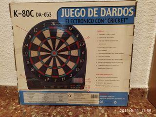 JUEGO DE DARDOS ELECTRÓNICO CON CRICKET