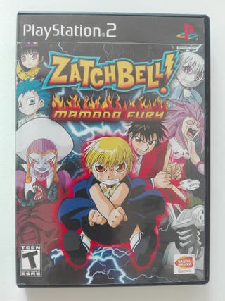 Videojuego PS2 Zatch Bell!: Mamodo Fury (2006)