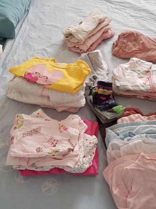 Lote ropa bebé niña 6-12 meses invierno