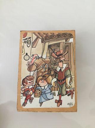 Caja de cerilla doble dibujo mingote