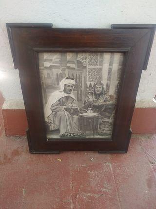 Cuadro antiguo marroquí