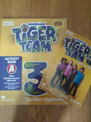 Libro de inglés Tiger Team 3.