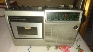 antigua radio cassette national panasonic