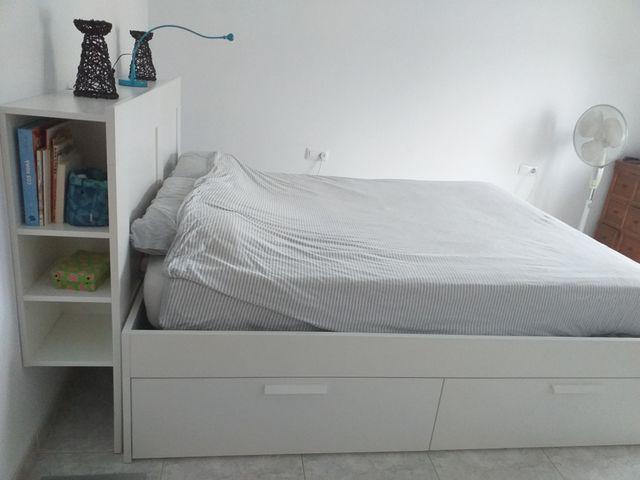 cama ikea brimnes 160×200cm