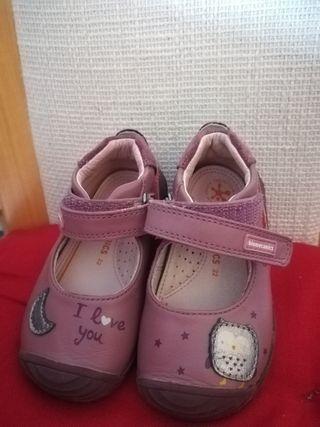 zapatos biomecanics niña. talla 22