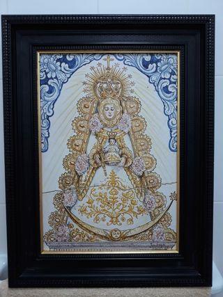 Azulejo de la Virgen del Rocio