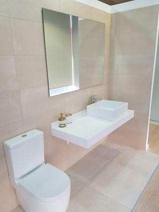 Encimera lavabo Roca-Hansgrohe
