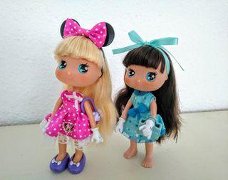 """Muñecas """"Minnie mouse"""" 2 X 6€"""