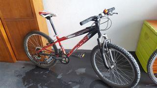 bicicleta btt niño rueda 24 pulgadas