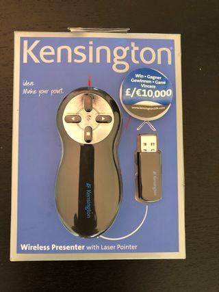 Puntero laser y wireless presenter