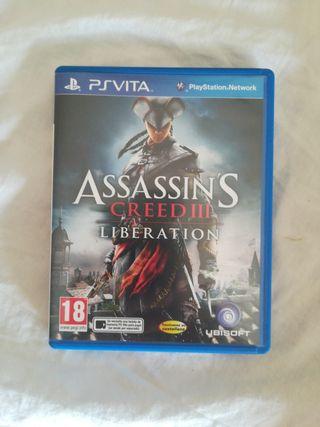PSVITA juego Assassins Crees III
