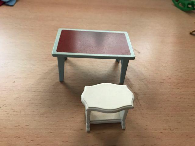 Playmobil lote 2 mesas casa victoriana