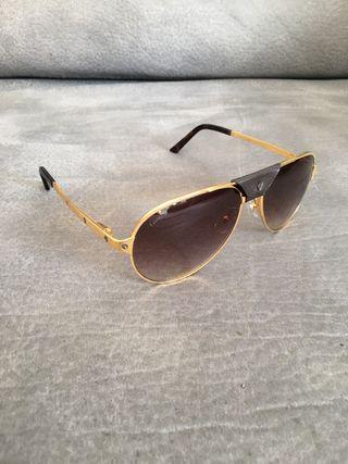 Gafas cartier de oro