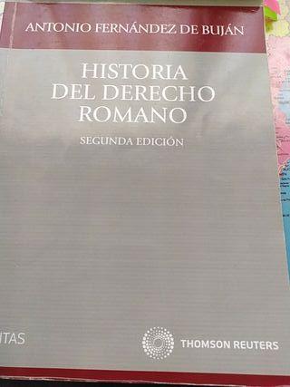 Libro historia del derecho romano