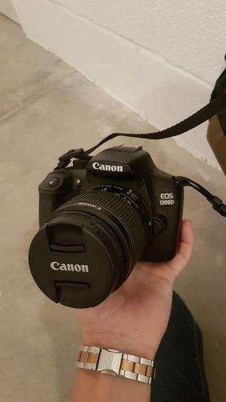 Camara de fotos Reflex Cannon EOS 1300D