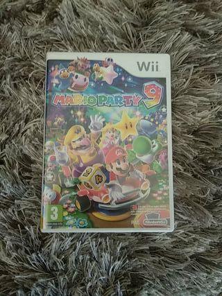 Juego WII Mario party 9
