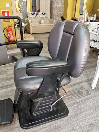 sillón De Barbero + Mueble