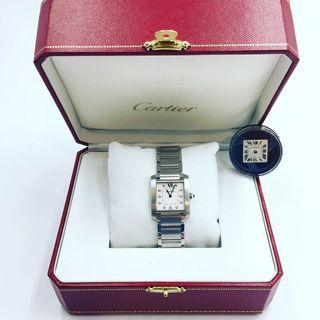 Cartier Tank Francés Diamantes