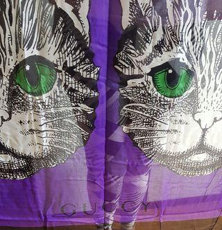 Mystic Cat Modal and Silk, Scarf Gucci. 140x140 c