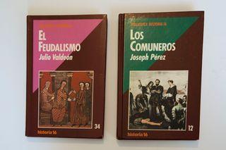 2 LIBROS DE HISTORIA MEDIEVAL.