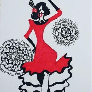 Lámina flamenca moderna