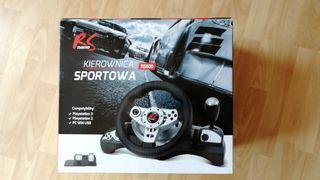 volante de carreras para Ps3