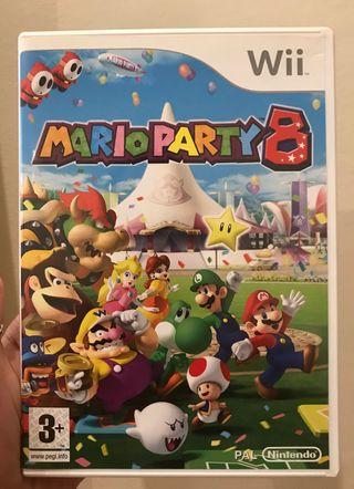 Mario Party 8. Juego para la Wii