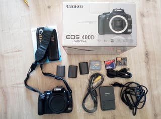Cuerpo Cámara Canon 400D (sin objetivos)