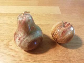 pomme et poire decoratives