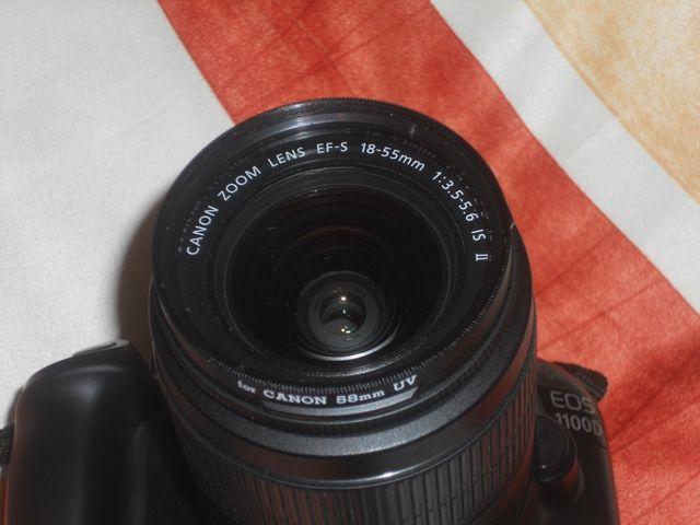 CANON EOS 1100D+OBJETIVO EFS 18-55 IS II+SD 64.