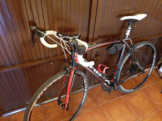 Bicicleta de carbono