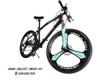 Bicicleta de montaña Helliot Bangkok azul