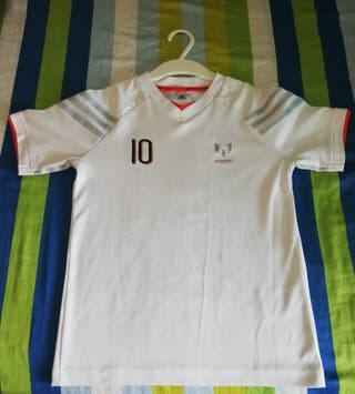 Camiseta Messi y Chaqueta Adidas