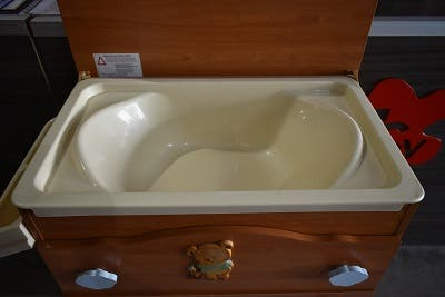 Bañera cambiador Micuna 4 cajones cerezo